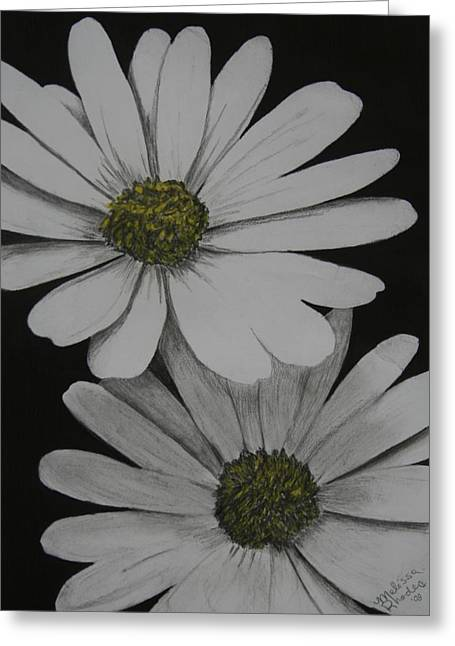 Daisies Pastels Greeting Cards - Daisies Greeting Card by Melissa Rhodes