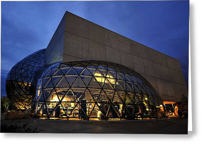 St Petersburg Florida Greeting Cards - Dali inside and out Greeting Card by David Lee Thompson