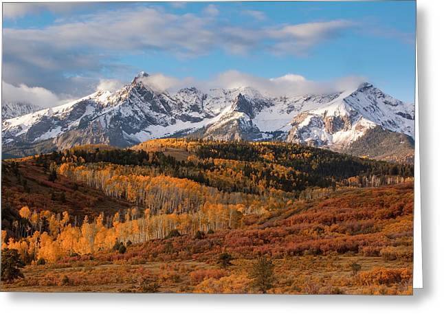 Dallas Divide Morning Delight Greeting Card by Jennifer Grover