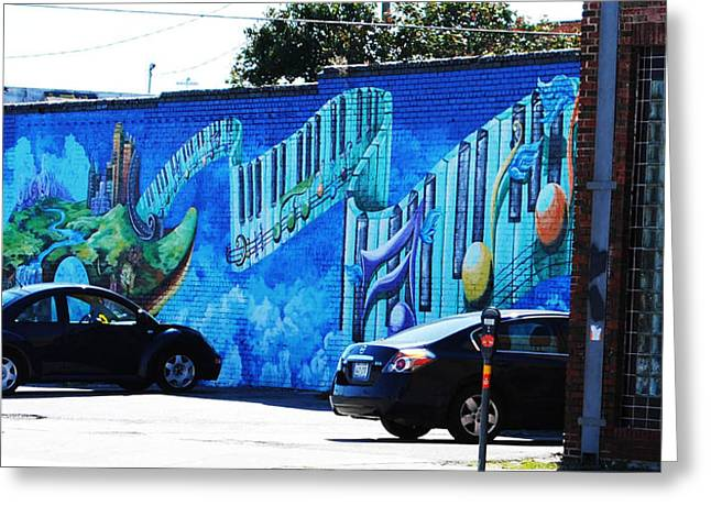 Dallas Street Art 4 Greeting Card by DiDi Higginbotham