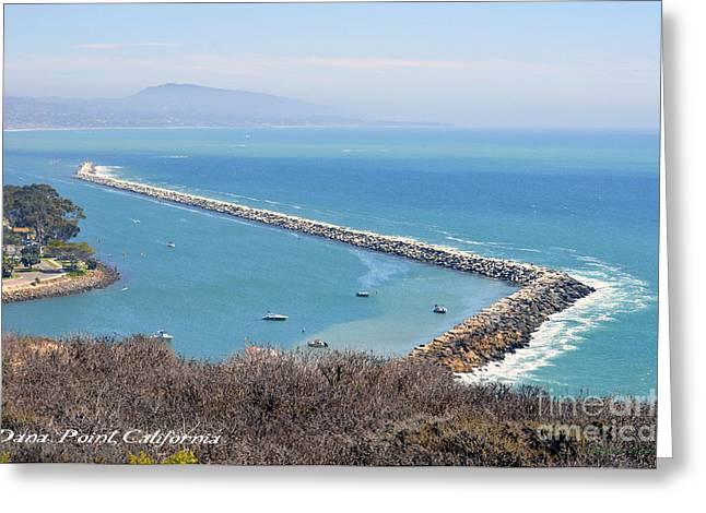 Dana Point California 9-1-12 Greeting Card by Clayton Bruster