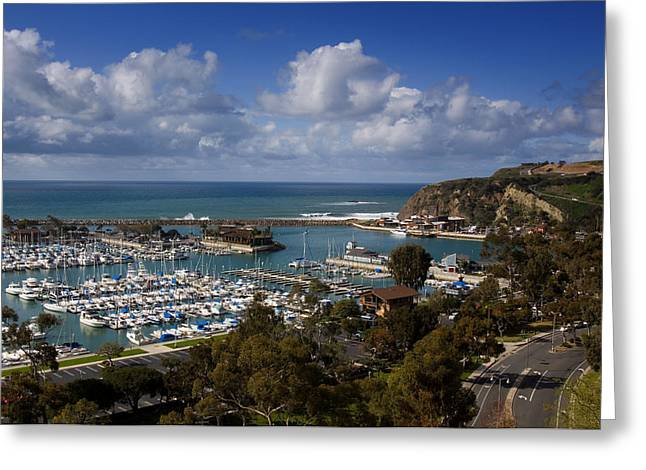 Danae Greeting Cards - Dana Point Harbor California Greeting Card by Cliff Wassmann