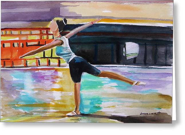 Inner Self Greeting Cards - Dance Class Greeting Card by John  Williams