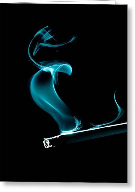 Smoking Cigarette Greeting Cards - Dance Greeting Card by Ivan Vukelic