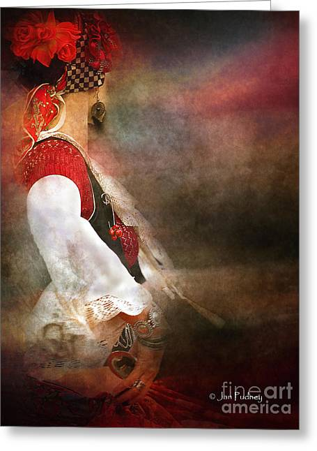 Gumeracha Greeting Cards - Dance Greeting Card by Jan Pudney