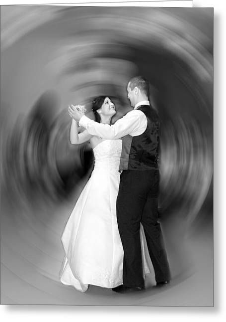 Important Greeting Cards - Dance of Love Greeting Card by Daniel Csoka