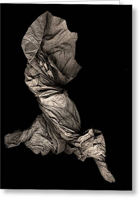 Dance Sculpture Greeting Cards - Dance of Radiant Joy Greeting Card by Peter Cutler