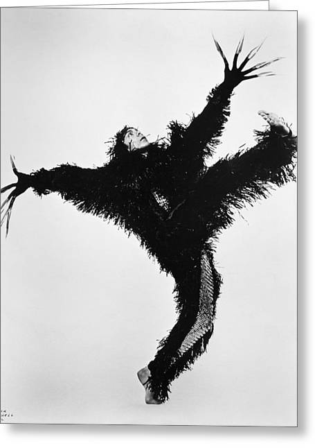 Choreographer Greeting Cards - Dance: Paul Taylor Greeting Card by Granger