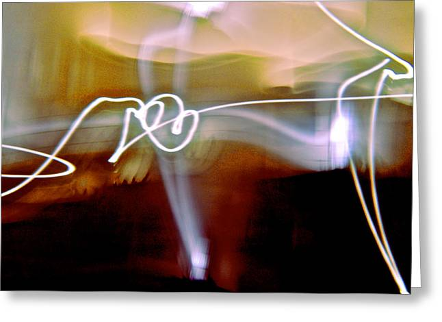 Inner Reality Greeting Cards - Dance The Night Away Greeting Card by Henry Rowland