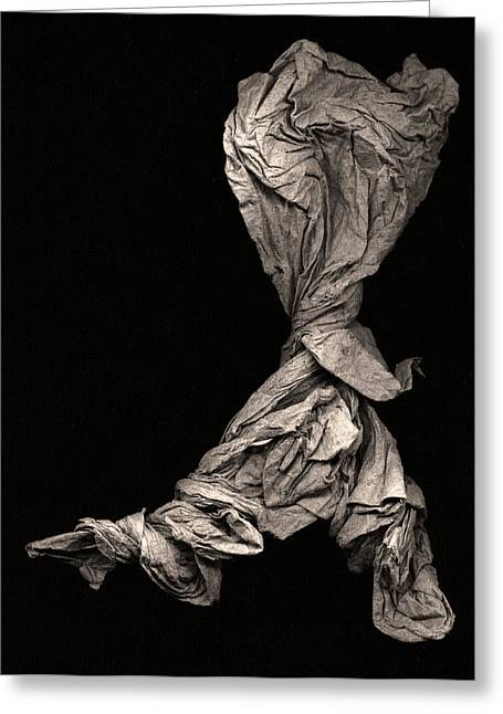 Abstract Expressionism Photographs Greeting Cards - Dancer Two Greeting Card by Peter Cutler