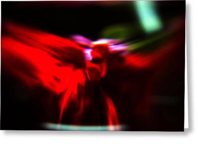 Spiritual Being Greeting Cards - Dancing Angels Greeting Card by Scott  Wyatt