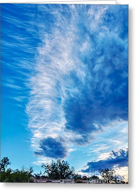 Dancing Light And Clouds 2 Greeting Card by Scotts Scapes