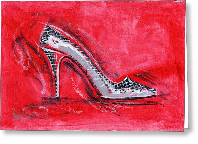 High Heels Greeting Cards - Dancing Queen Greeting Card by Richard De Wolfe