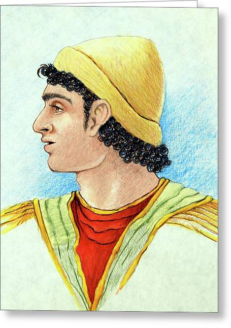 Babylon Paintings Greeting Cards - Daniel in Babylon Greeting Card by Ron Cantrell