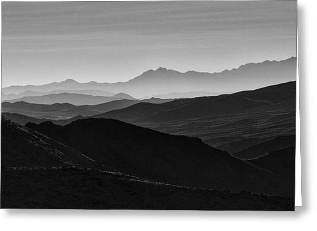Boarder Greeting Cards - Dantes View Greeting Card by Keith Kapple
