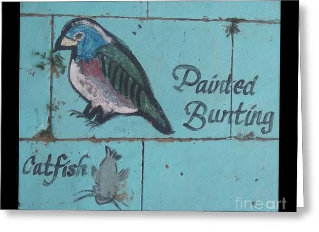 Brunswick Greeting Cards - Darien Mural 2 Greeting Card by Rebecca  Stephens