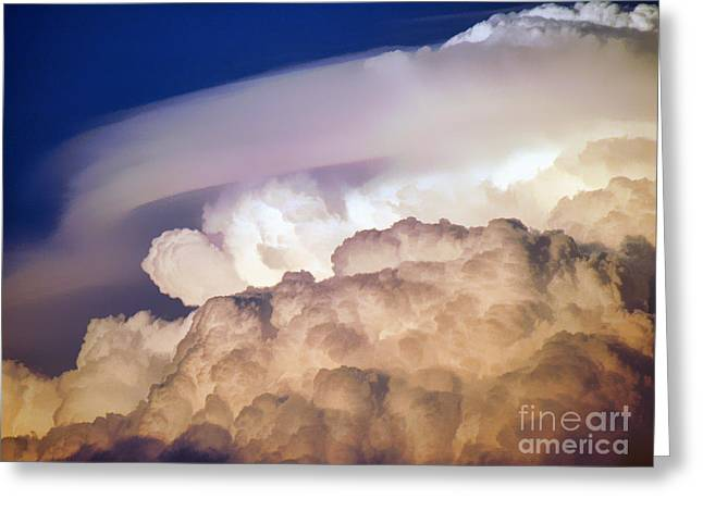 Giclée Fine Art Greeting Cards - Dark Clouds - 2 Greeting Card by Graham Taylor