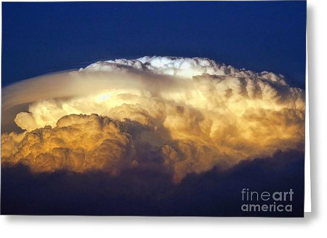 Giclée Fine Art Greeting Cards - Dark Clouds - 3 Greeting Card by Graham Taylor