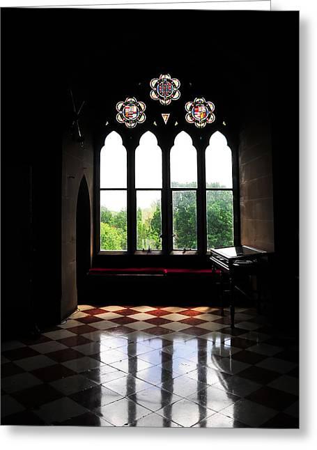 Chimes Greeting Cards - Dark Room Greeting Card by Svetlana Sewell