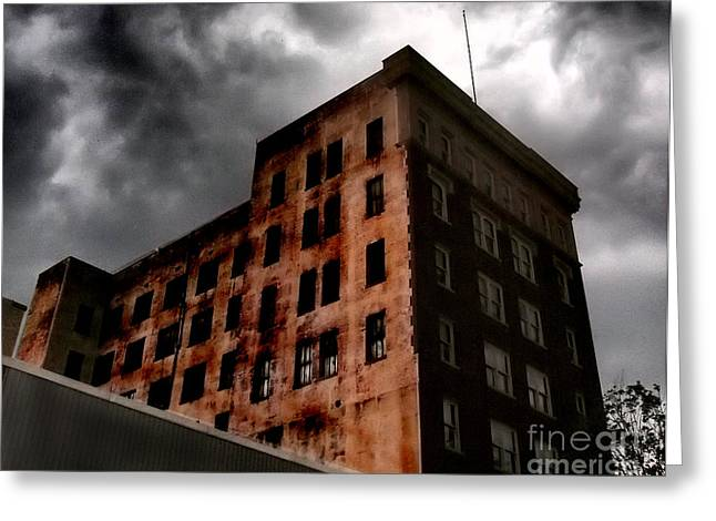 Gastonia Photographs Greeting Cards - Dark Shadows  Greeting Card by Tammy Cantrell