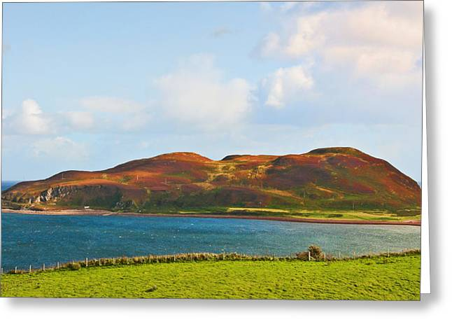 Bute Greeting Cards - Davaar Island - Campbeltown Greeting Card by Chris Thaxter