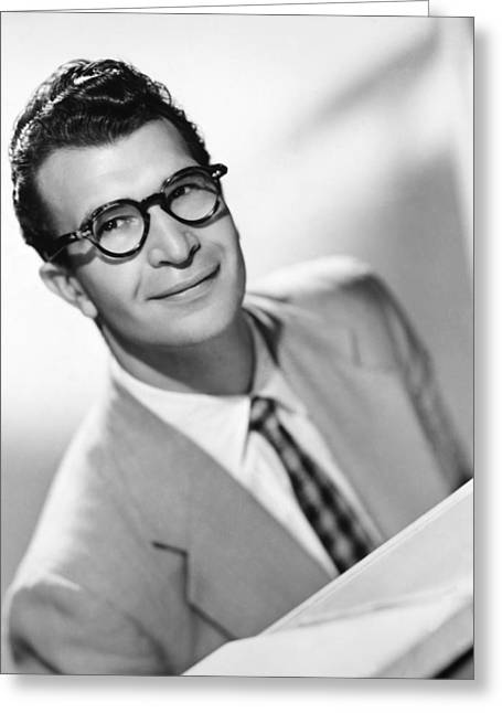 Brubeck Greeting Cards - Dave Brubeck (1920- ) Greeting Card by Granger