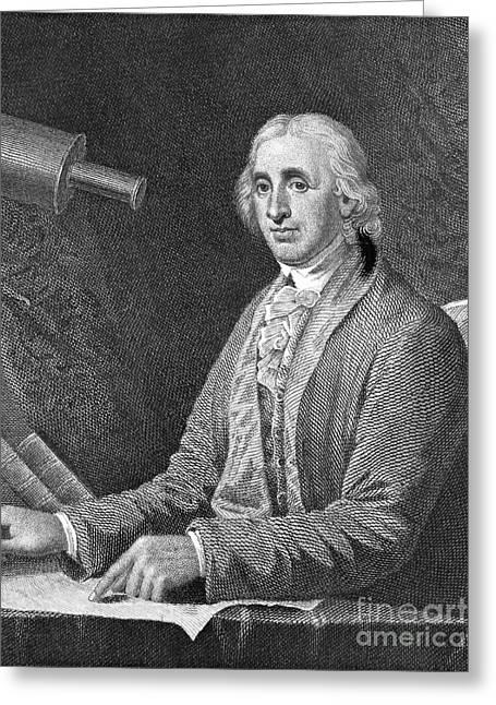 1732 Greeting Cards - David Rittenhouse, American Astronomer Greeting Card by Science Source