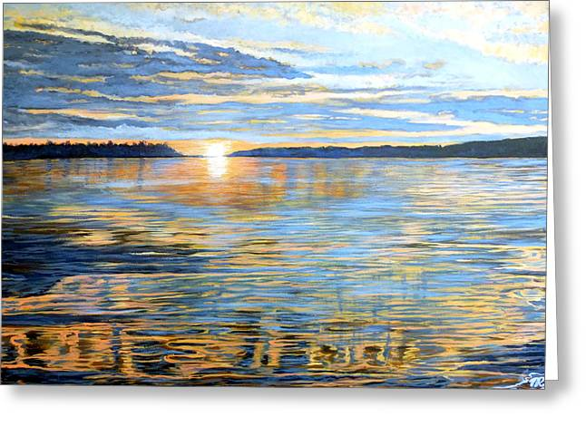 Davidson Quebec Greeting Card by Tom Roderick