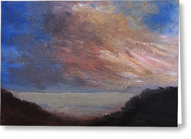 Trilby Cole Greeting Cards - Dawn Breaks Greeting Card by Trilby Cole