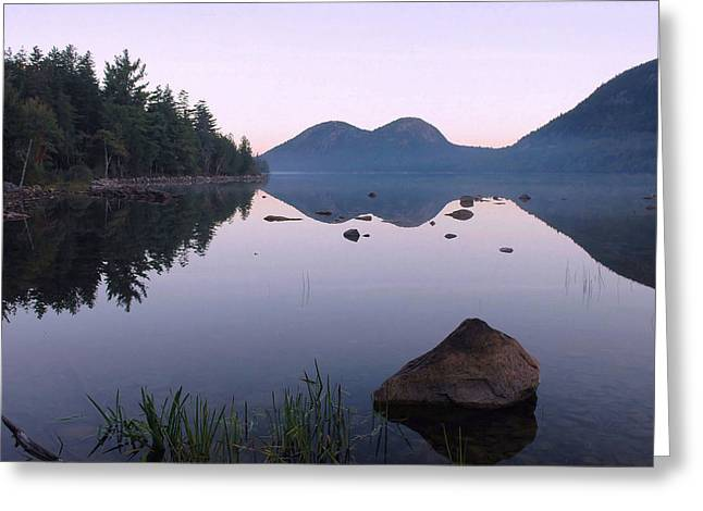 Dawn Reflections Greeting Card by Stephen  Vecchiotti