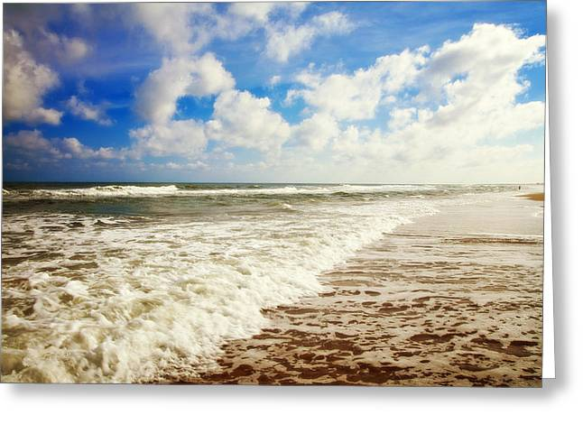 St. George Island Greeting Cards - Day at St. George Greeting Card by Toni Hopper