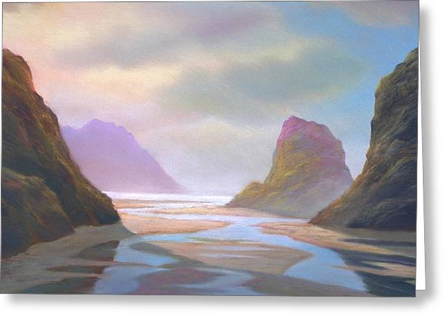 Oregon Pastels Greeting Cards - Day of Reckoning Greeting Card by Michael Cook