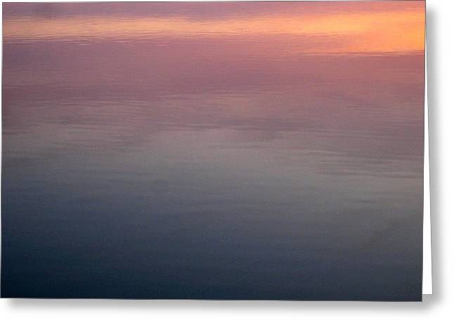 Lake Mendota Greeting Cards - Days End reflection Greeting Card by Teresa Rogers