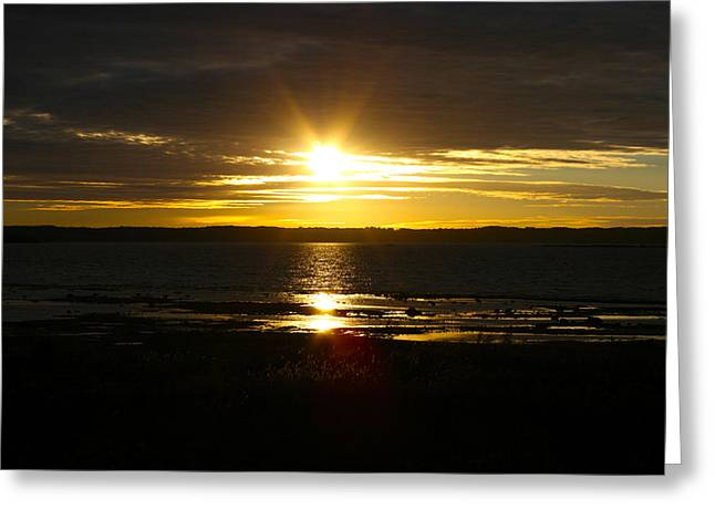 Mi Greeting Cards - Days End Greeting Card by Richard Gregurich