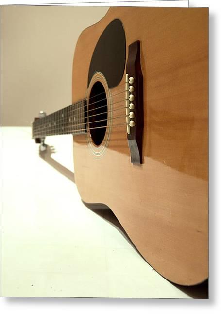 Chirico Greeting Cards - De Chiricos guitar Greeting Card by Alessandro Della Pietra