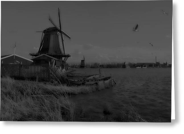Zaans Greeting Cards - De Zaan dh 1 Greeting Card by Wessel Woortman