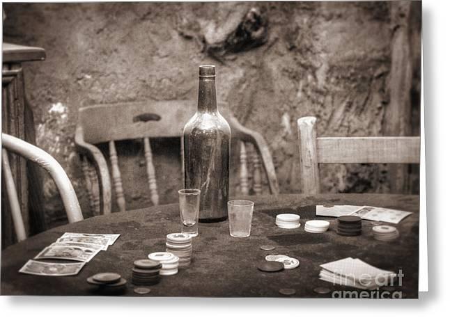 Reenactment Greeting Cards - Dead Hand Greeting Card by Arni Katz