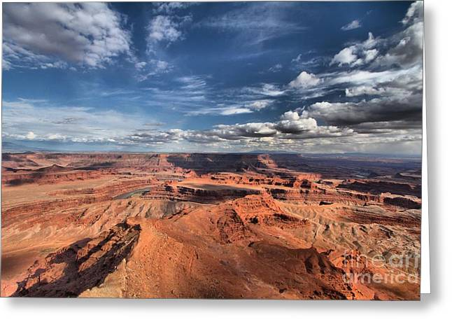 Dead Horse Point Greeting Cards - Dead Horse Point Greeting Card by Adam Jewell