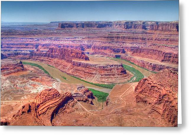 Landsape Greeting Cards - Dead Horse Point Greeting Card by Ken Smith