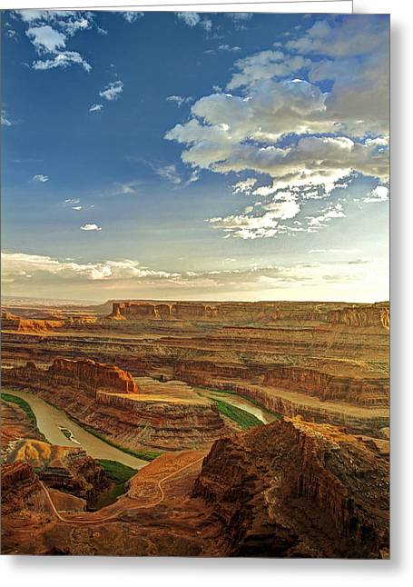 Dead Horse Point Greeting Cards - Dead Horse Point Greeting Card by Ron Schwager