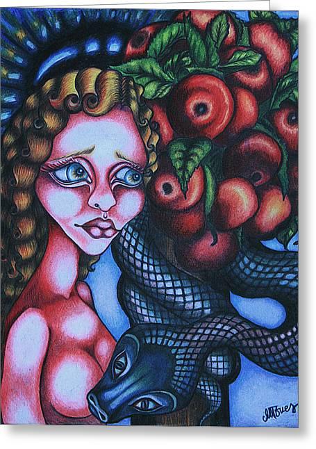 Death Greeting Card by Maryska Torresowa