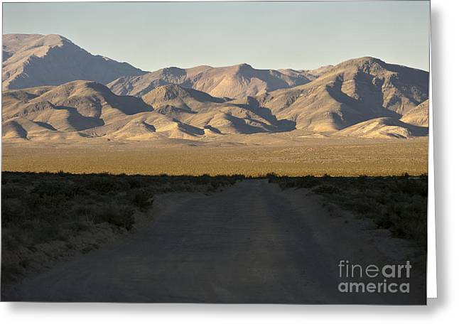 Roadway Greeting Cards - Death Valley, California Greeting Card by David Buffington
