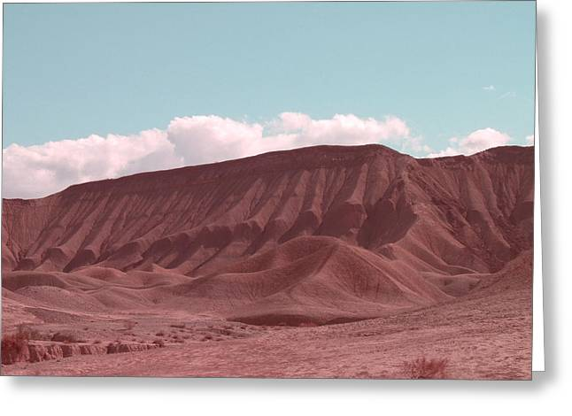 Hills Greeting Cards - Death Valley Greeting Card by Naxart Studio