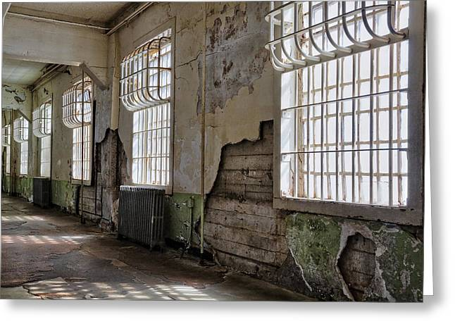 Alcatraz Greeting Cards - Decay Greeting Card by Kelley King