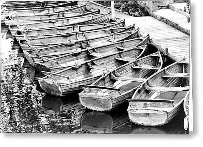 Dedham Greeting Cards - Dedham boat house Greeting Card by Ian Merton
