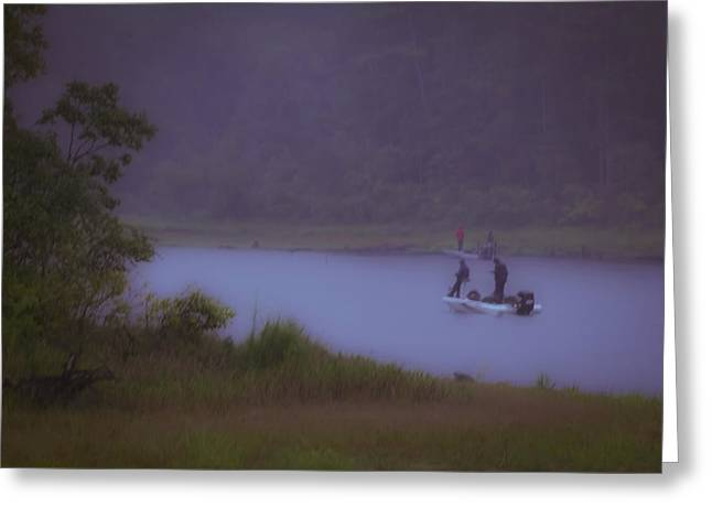 Fishing Tournaments Greeting Cards - Dedication Greeting Card by Kim Henderson