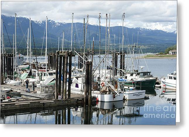 Deep Bay British Columbia Greeting Cards - Deep Bay Harbor Greeting Card by Artist and Photographer Laura Wrede