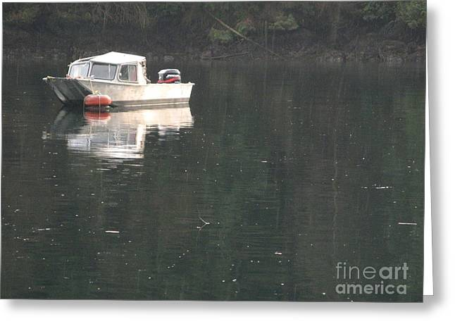 Deep Bay British Columbia Greeting Cards - Deep Cove Greeting Card by Donica Abbinett