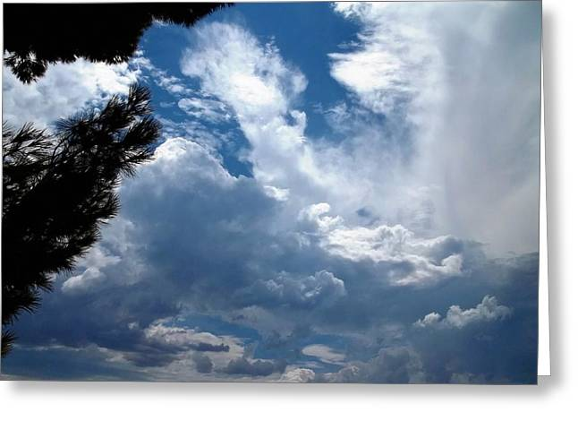 Deep Skies Greeting Card by Glenn McCarthy Art and Photography