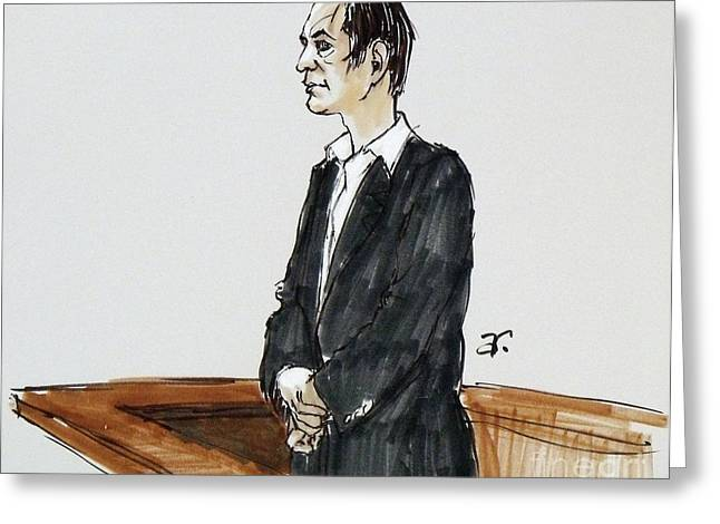 Defendant Greeting Cards - Defendant Greeting Card by Armand Roy